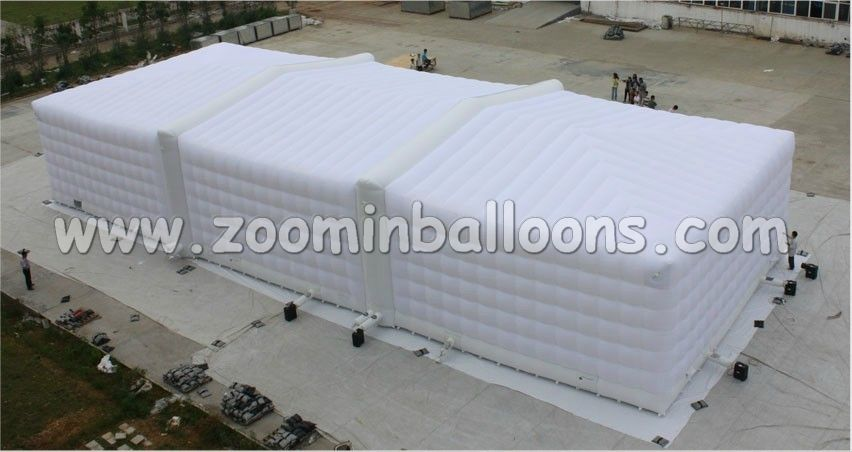 2016 Hot sale gaint inflatable cube tent for wedding party events N5150