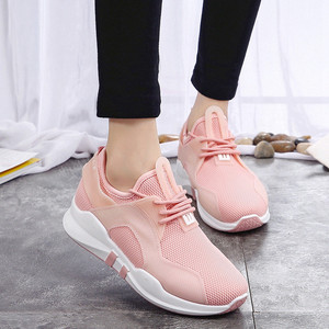 Fashion Low-top Casual Soft Bottom Students Leisurely Breathable Sports Running Shoes Women Sneakers