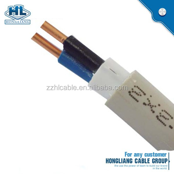 AS/NZS TPS Black Red White NMD-90 14 AWG,12 AWG flat cable 2 conductor 3 conductor