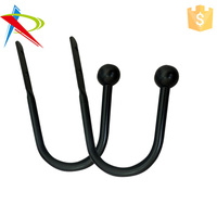 Factory Manufacturer Metal curtain tiebacks