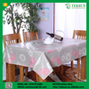 Sanitary ware cheap non woven silicone table cloth