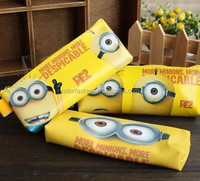 TF-W01151008015 Mininons Creative pencil pencil case storage bag for men and women students cartoon cosmetic bags