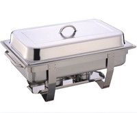 large loading quantity stainless steel buffet food warmer