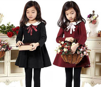 2015 Children Clothing Korean Kids Clothes Wholesale Dress Princess 7 Years Girls Dresses