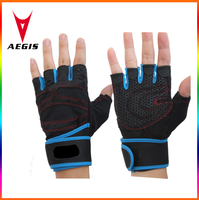 half finger gym gloves weight lifting gloves singapore/fitness gloves /sport gloves