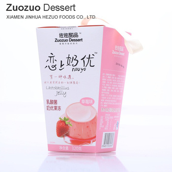 320g fruit cup jelly export health certificate food