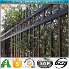 Cheap decorative wrought iron fence designs