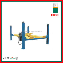 5.5T hydraulic four post heavy duty auto hoist