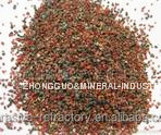 garnet for dry sandblasting applications.