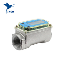 Economic turbine fuel flow meter