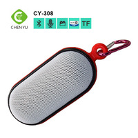 CE Rohs OEM touch button portable bluetooth speaker with FM radio