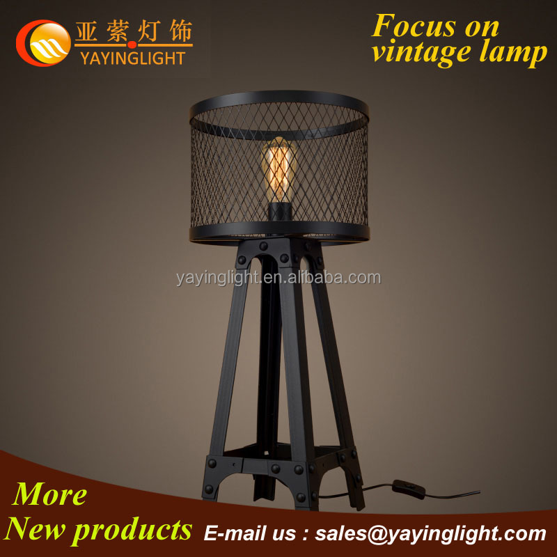 wrought iron lamp,table lamp magnifying glass,swing arm desk lamp