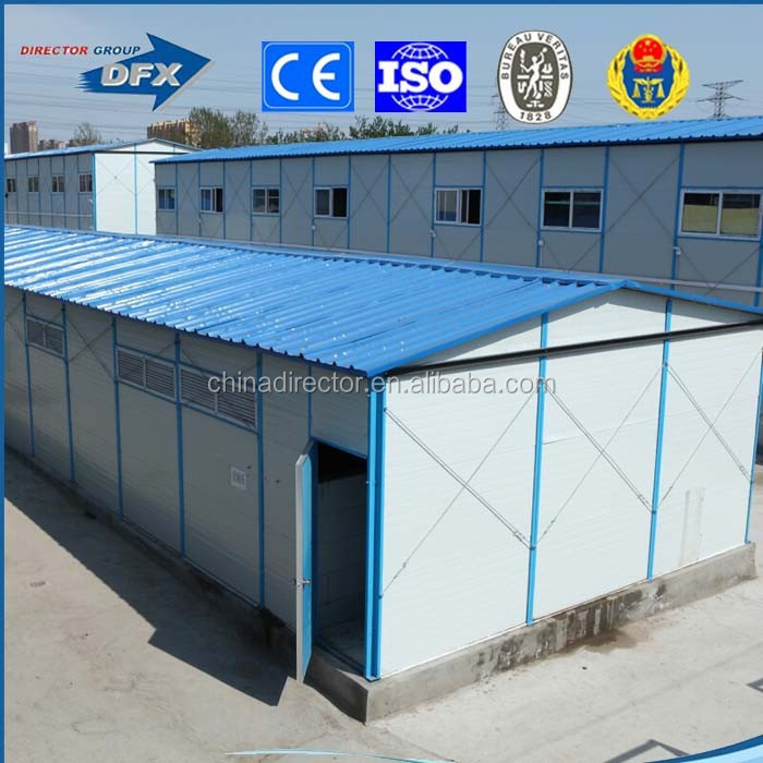 High quality cheap prefabricated home /portable prefab house/workers' dorms/office