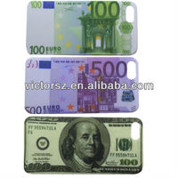 for iPhone 5 5g money style case cover,hard pc case for iphone5