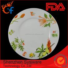 Custom various sized hotel restaurant decorative ceramic dinner plates u0026 dishes  sc 1 st  Alibaba & Shenzhen Sysiware Technology Co. Ltd. - Porcelain Dinnerware ...