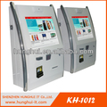 Bank self service kiosk payment/ ticket reading wall payment kiosk