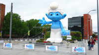 NB2-CT105 Inflatable Smurf for advertising