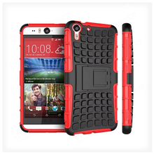 Cheap Price Kickstand Shockproof Mobile Phone Case For HTC Desire Eye 818 Tough Armor Case