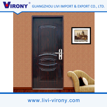 Cheap price commercial waterproof steel security door