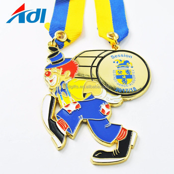 China supplier cheap custom glazuur enamel carnaval metalen medailles medals
