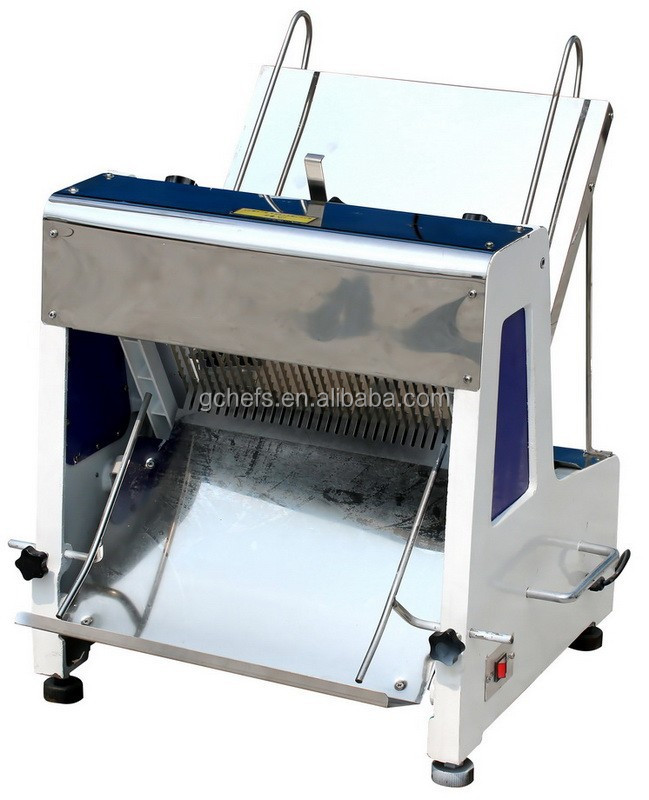 Heavy Duty Stainless Steel Commercial Bread and Toaster Slicer for Bakery and Pastry / Supplier for All Bakery Equipment