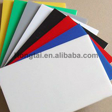 high density cheap PVC sheets black/white