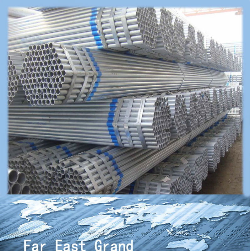 tiny houses Galvanized Steel Pipe/tube oriental trading wholesale