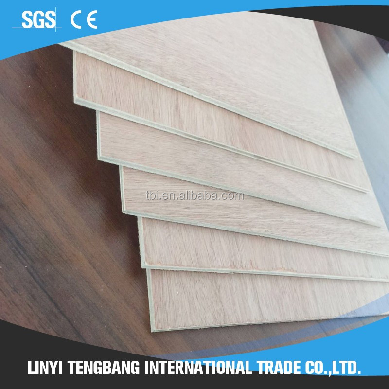 Furniture plywood faced Templet sheet wooden construction