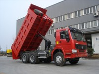 China SINOTRUK HOWO 6X4 Heavy Duty Tipper Truck For Sale