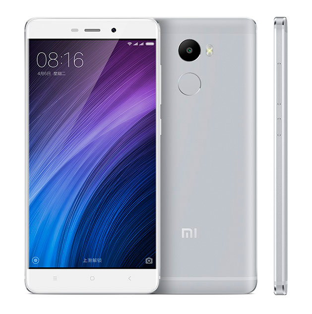Original xiaomi redmi 4 mobile phone snapdragon 430 Octa Core 1.4GHz 16G Rom 5.0inch 13.0MP 4100mAh MIUI8