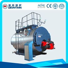 1-10ton/h wns series gas fired steam boiler with best price