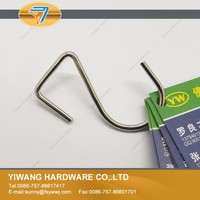 Factory direct sale metal wire hanging s hook