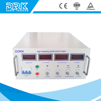 300A high frequency gold silver pulse plating rectifier