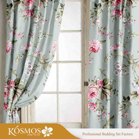 100% polyester printed window or shower curtain made in china