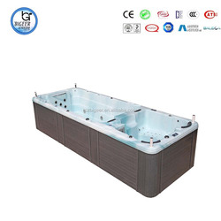 Distributors wanted Swim Spa hydrotherapy Dual Zone Swim Spa Pool(BG-6610)