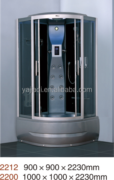 OEM manufacturer supplied Luxurious steam shower room videos massage rooms