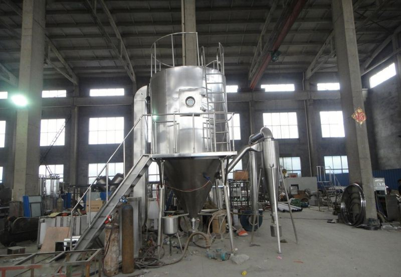 2017 LPG Series high-speed Centrifuge atomizing drier, SS gas vented tumble dryer, GMP spray dryer sizing