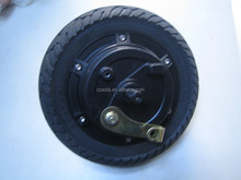 2015 NEW! 8 inch electric hub wheel motor with drum brake