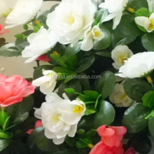 artificial outdoor flowers and plants,artificial rose flower ball,2012 christmas artificial flowers