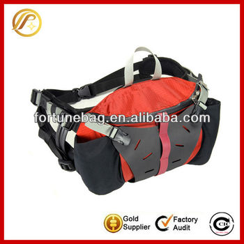 Outdoor nylon motorcycle waist bag