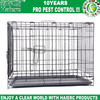 Haierc Single-Door Folding Metal Dog Crate - 30 Inches