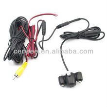 2 LED Light Reverse Backup Car Camera Wired with Waterproof 150 Angle