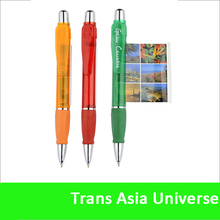 High Quality Logo Printed promotion banner biro pen