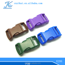 "bag insert buckle 1/2"" side release buckle plastic buckles for straps"