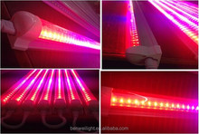 LED T8 plants growing light blue red pink led grow light t8 tube