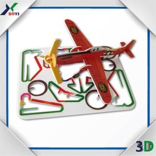 Children DIY Games 3D Paper Model Puzzle 3D Puzzle Plane