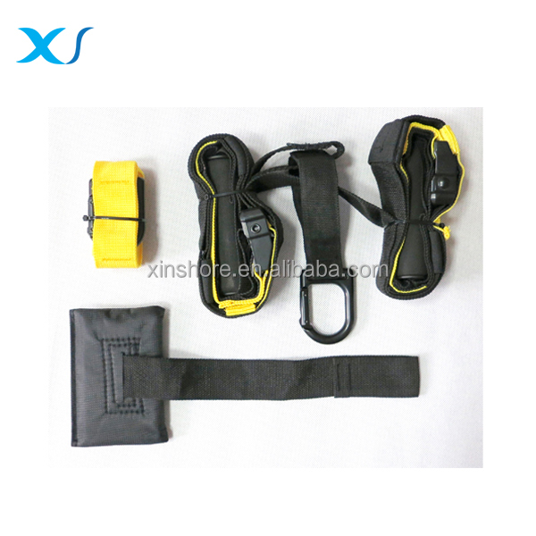Suspension Straps Body Fitness Training , Suspension System