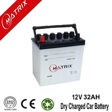 n32 32ah 12v lead acid dry charge auto battery for car
