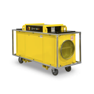 Industrial Electric Heater 80 kW 6,000 m3/h 600 Pa