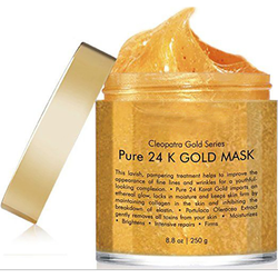beauty 24 K Gold collagen crystal Facial mud Mask